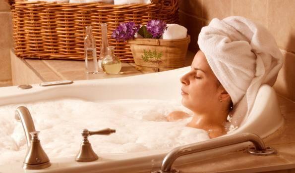 Come rilassarsi la sera - Bagno Rilassante