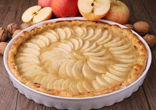 Come fare la torta di mele e dolci con le mele ricette for Ricette torte facili