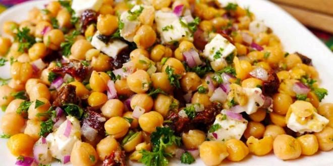 come fare insalata di ceci - ricette facili e veloci