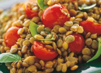 Come fare insalata di lenticchie - ricette facili e veloci