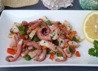 Come fare insalata di polpo - ricette facili e veloci