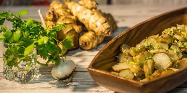 Topinambur ricette facili e veloci. Scopri come pulire il topinambur e come cucinare il topinambur.