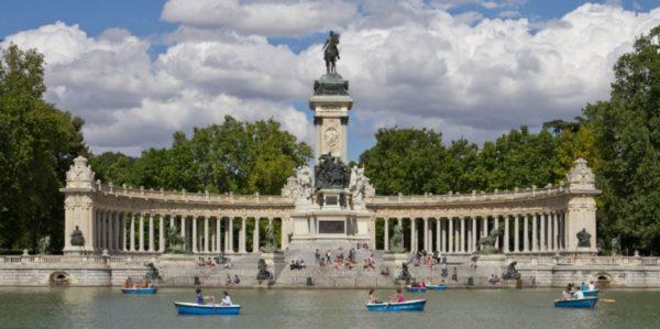 I posti più belli da vedere a Madrid Parco del Retiro