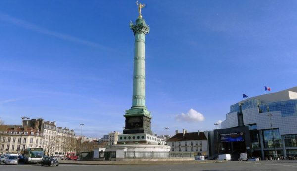 Dove andare a Parigi assolutamente Place de la Bastille