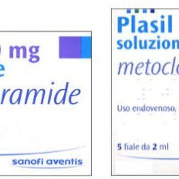 Plasil®: farmaco sintomatico contro nausea e vomito (da usare solo sotto controllo medico).