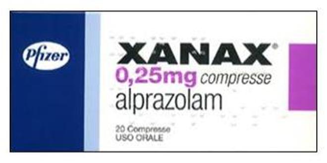 Xanax® (alprazolam): foglietto illustrativo, a cosa serve, prezzo, controindicazioni, effetti collaterali. Scopri a cosa serve Xanax compresse o gocce, per quali malattie si usa, come assumerlo, la posologia per adulti, le controindicazioni e gli effetti collaterali del farmaco ansiolitico Xanax.