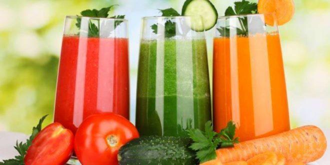 Centrifugati di verdura fai da te