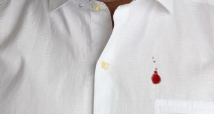 Togliere le macchie di sangue da vestiti e tessuti. 6 metodi veloci ed efficaci.